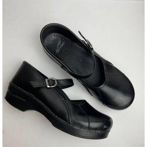 Dansko Marcelle Black Clog size 40